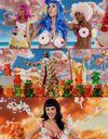 Vidéo : perruque bleue et seins en cupcakes pour Katy Perry !