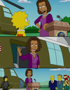 Michelle Obama en guest-star dans les Simpson !