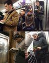 Prêt-à-liker : #HotDudesReading, le hashtag des beaux gosses qui lisent dans le métro