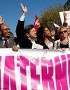 Une manifestation de soutien à la maternité des Lilas
