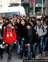 Une rumeur fait descendre les lycéens dans la rue