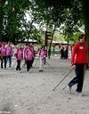 Marche nordique pour la prévention du cancer du sein