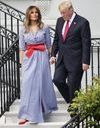 Melania Trump : pourquoi son look bleu blanc rouge fait jaser