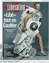 Aujourd'hui, Jean Paul Gaultier habille Libération !