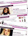Des femmes, un blog et du shopping pour la bonne cause !
