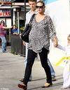 Heidi Klum au top du style malgré l'accouchement imminent