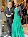 Kate Moss : la robe longue, oui, mais flashy !