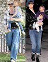 Les mamans stars revisitent le boyfriend jean
