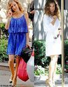 Sex & the City 2 : les 2 premiers looks de Carrie Bradshaw