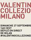 Suivez le défilé Valentino en direct
