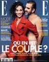 Eric Cantona pose nu en une de ELLE avec Rachida Brakni