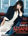 Isabelle Adjani en couverture de ELLE cette semaine!