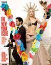 """Lady Gaga pose en """"statue de la Liberté"""" avec Marc Jacobs"""