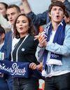 Valérie Bègue : l'ex Miss France très complice avec le fils de Didier Deschamps dans les tribunes