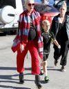 Le look du jour: Gwen Stefani enceinte avec ses fils