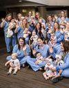 31 femmes, 32 bébés : ces collègues enceintes en même temps ont accouché