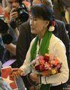 Aung San Suu Kyi : « Investissez en Birmanie »