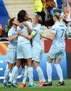Football : les Bleues victorieuses