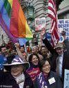 Les Américains pour le mariage gay