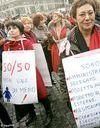 Les Italiennes dans la rue pour « changer l'Italie »