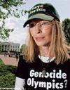Mia Farrow pour le Darfour