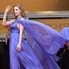 Cannes 2014 : Jessica Chastain joue les Marilyn Monroe sur le tapis rouge