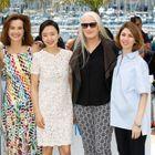 Lambert Wilson et le jury du Festival de Cannes en photocall