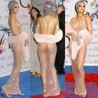 Les Dessous De La Robe Transparente De Rihanna Aux...