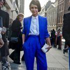 Street style : 20 façons de porter le bleu