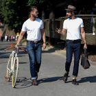 Street style : les hommes accros aux sacs à main !