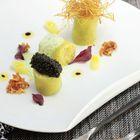 Poireau Vinaigrette Au Caviar Et Son Crumble De Par...
