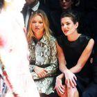 Charlotte Casiraghi Et Kate Moss Aux Premiers Rangs...