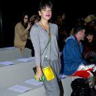 Lily Allen, Kate Moss et sa sœur Lottie, stars de la Fashion Week de Londres