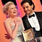 Kirsten Dunst Et Jean Dujardin, Grands Vainqueurs D...
