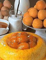 Riz condé aux abricots
