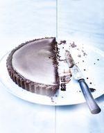 Tarte presque sans cuisson 100 % chocolat