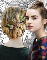 Cheveux attachés 2016 : 50 idées de coiffures chics ou ...