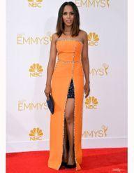 Le look du jour : Kerry Washington, plus resplendissante que jamais aux Emmy Awards 2014