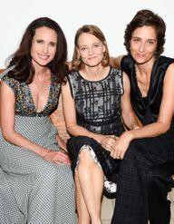 Jodie Foster et Andie MacDowell, reines du Gala in the Garden de Bottega Veneta