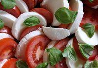 Salade tomate-mozzarella