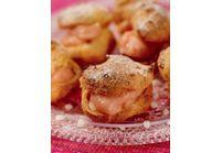 Petits choux fraise bonbon Spécial Petits Chefs