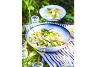Salade italienne calamar basilic