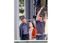 Leonardo DiCaprio et Marion Cotillard en tournage à Paris
