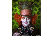 """Photo : Johnny Depp dans """"Alice au Pays des Merveilles"""" !"""