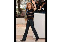 Cannes : Isabelle Huppert, au top pour son premier jour de présidence