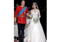 La robe de Kate Middleton exposée à Buckingham
