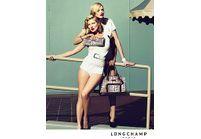 Longchamp habille Kate Moss