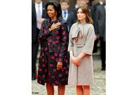 Michelle Obama et Carla Bruni : enfin réunies !