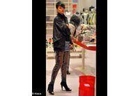 Rihanna ose le legging en cuir lacéré !