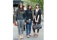 Les fashionistas à la Fashion Week de Paris